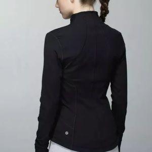 LULULEMON Forme Jacket Black Define Thumbholes 12